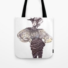 Fashion sketches in mixed technique Tote Bag