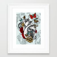 Minute By Minute Color Framed Art Print