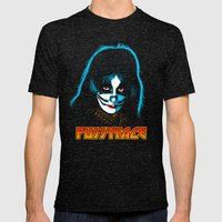 PUSSYFACE Mens Fitted Tee Tri-Black SMALL