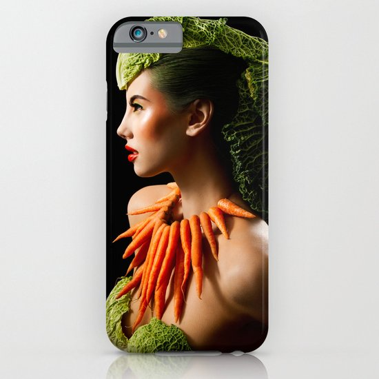 Eat Your Greens iPhone & iPod Case