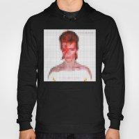 Bowie : Aladdin Sane Pixel Hoody