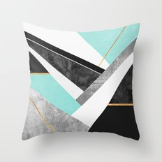 Lines & Layers 1.2 Throw Pillow