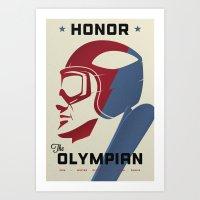 Honor The Olympian Art Print