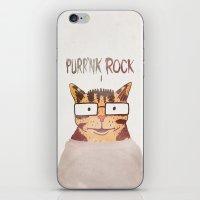 PURR'NK ROCK iPhone & iPod Skin