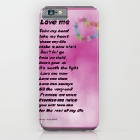 iPhone & iPod Case featuring Love Me by Christy Leigh