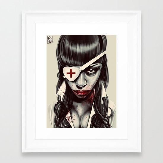 """Sergent"" Framed Art Print"