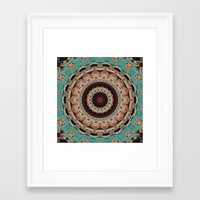Southwest Mandala Framed Art Print