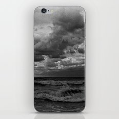 Cloudy waves iPhone & iPod Skin