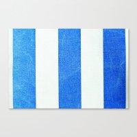 Summer Stripes 3493 Canvas Print