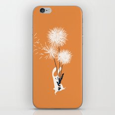 Bunny and Dandelion Bouquet iPhone & iPod Skin