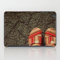 Shoes On Cement iPad Case