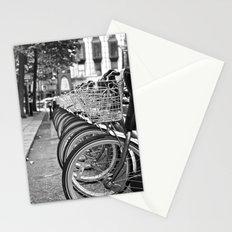 Bike Rack in Dublin Stationery Cards