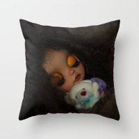 Blythe Doll Sleeping Throw Pillow