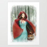 Cappuccetto Rosso (Red R… Art Print