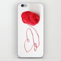 I love yarn iPhone & iPod Skin