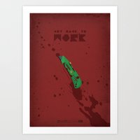 Breaking Bad - Boxcutter Art Print