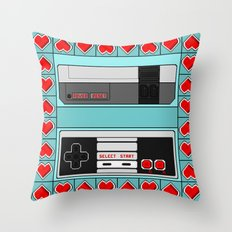 Video Game Lover : NES Throw Pillow
