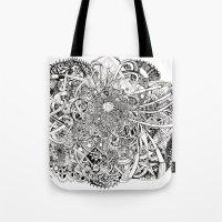 Inwards Tote Bag