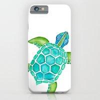 Watercolor Sea Turtle iPhone 6 Slim Case