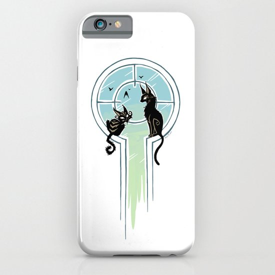 Window Cats iPhone & iPod Case
