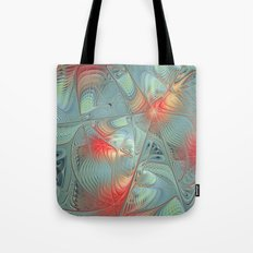 String Theory Fractal Art Tote Bag