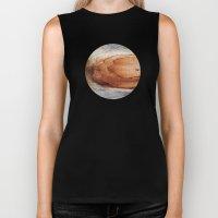 Planetary Bodies - Rust Wood Biker Tank