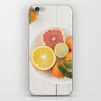 Cítricos iPhone & iPod Skin