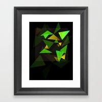 Geo•de Framed Art Print