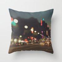 Hollywood Boulevard. Los… Throw Pillow