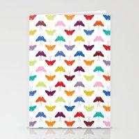 Butterfly Pattern Stationery Cards
