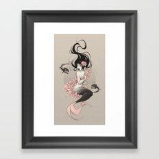 Sea Flower Framed Art Print