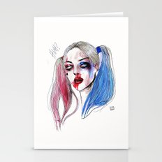 Margot As Harley Quinn F… Stationery Cards