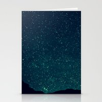 Desert Stars Stationery Cards
