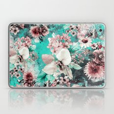 Watercolor Flowers Laptop & iPad Skin