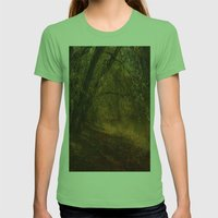 Solitude Womens Fitted Tee Grass SMALL