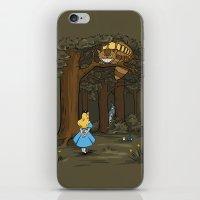 My Neighbor in Wonderland iPhone & iPod Skin