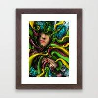 Among the Growth Framed Art Print