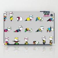 Yoga Bear - 80's Remix iPad Case
