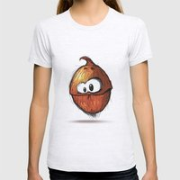 COCONUT | COCO Womens Fitted Tee Ash Grey SMALL