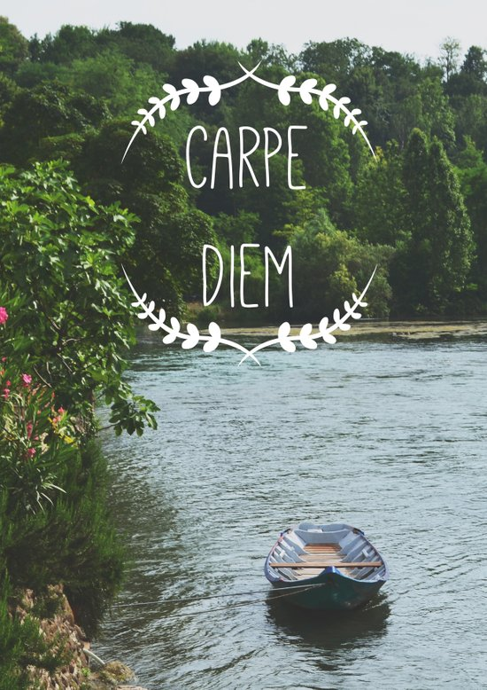 Carpe Diem - Seize the Day Art Print