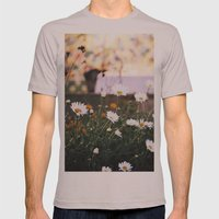 Everything's coming up daisies Mens Fitted Tee Cinder SMALL