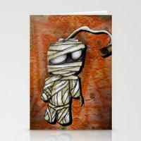 Bobby Mummy Stationery Cards