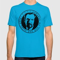 What idiot put you in charge? Mens Fitted Tee Teal SMALL
