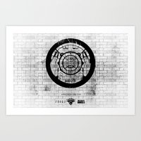 New York Rolling Art Print
