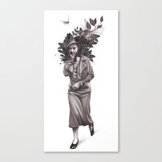 Allergic Canvas Print