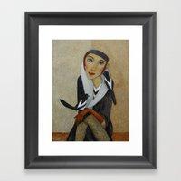 TWO MAGPIES  By Svetlana… Framed Art Print