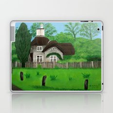 Cottage---Longleat safari park Laptop & iPad Skin