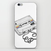 Cassette iPhone & iPod Skin
