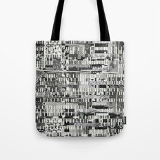 Exploiting Digital Behavior (P/D3 Glitch Collage Studies) Tote Bag