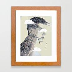 Natures spike Framed Art Print